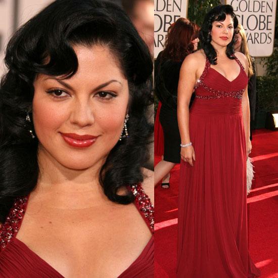Golden Globes Red Carpet: Sara Ramirez