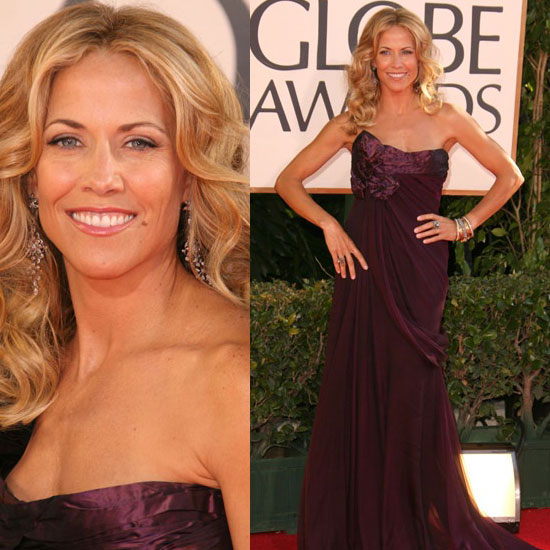 The Golden Globes Red Carpet: Sheryl Crow