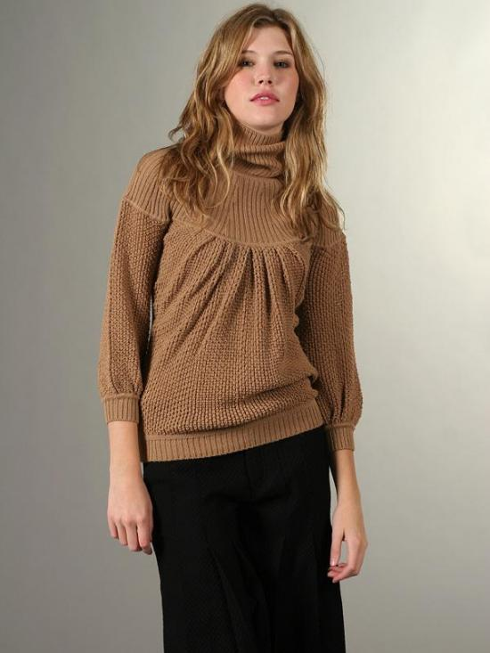 Trend Alert: Billowy Turtleneck Sweaters