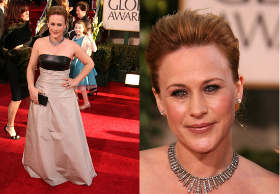 The Golden Globes Red Carpet: Patricia Arquette