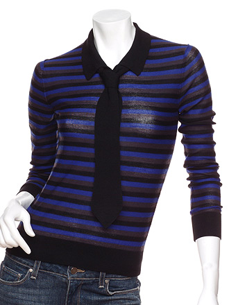 Sonia Rykiel Striped Tie Sweater: Love It or Hate It?