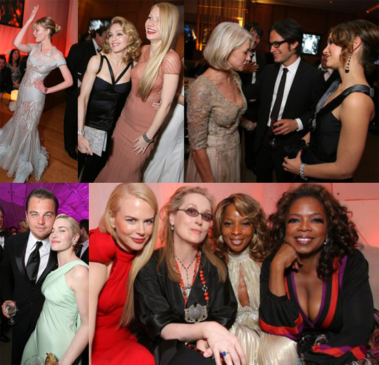 Behind the Vanity Fair Party's Closed Doors