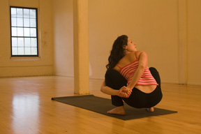 YOGA CHALLENGE:  Bound Squat