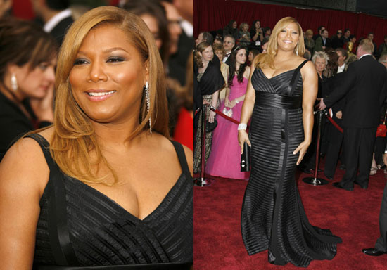 Oscars Red Carpet: Queen Latifah