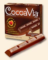 "I ""Heart"" Chocolate: CocoaVia Bars"