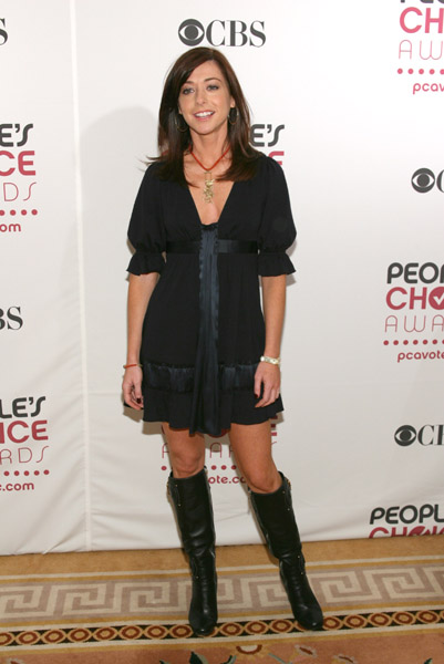 Celebrity Style: Alyson Hannigan at the 2006 People's Choice Event
