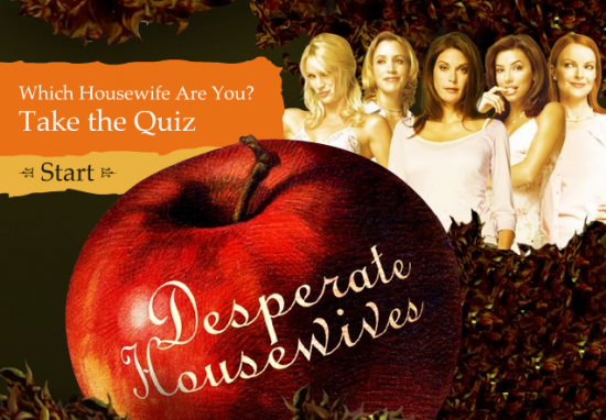 Who's Your Inner Desperate Housewife?