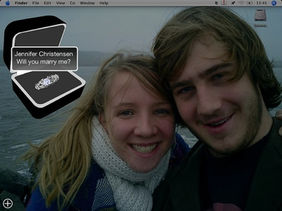 Man Proposes to Girlfriend Via Mac Widget - True Story!