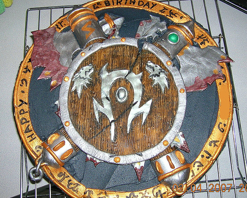 Edible Geek: World of Warcraft Cake