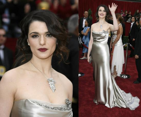 Oscars Red Carpet: Rachel Weisz