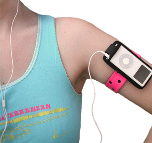 Gerbera iPod Nano Band