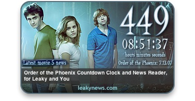 Download of the Day: Harry Potter Countdown