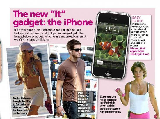 Jake Gyllenhaal Loves The iPhone Too?