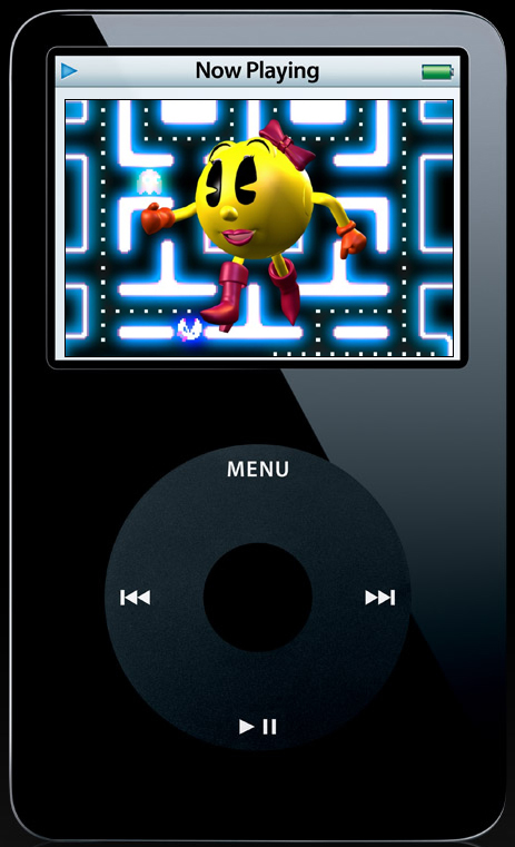 Now You Can Get Ms. Pac-Man On Your iPod