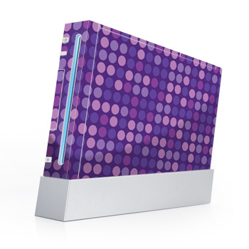 wii skin purple dots
