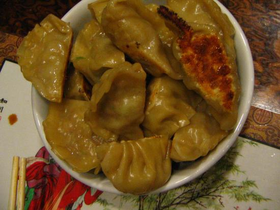 Homemade Pork Potstickers