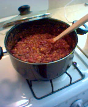 Sunday Dinner: Vegetarian Chili