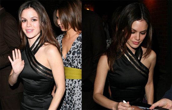Rejoice, Rachel Bilson Leaves the House