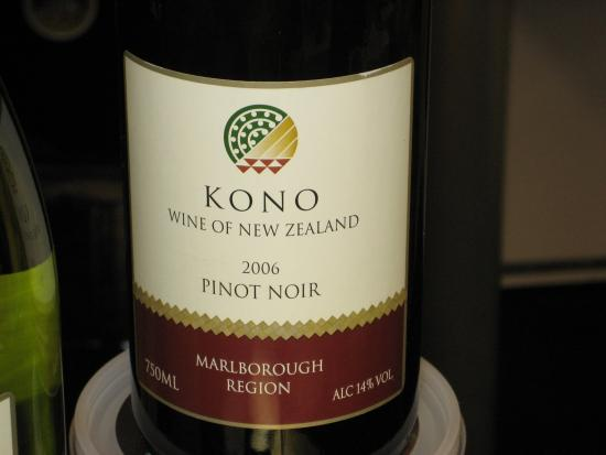 Happy Hour: Kono Marlborough Pinot Noir