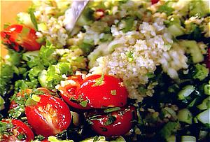 Exotic Side: Tabbouleh