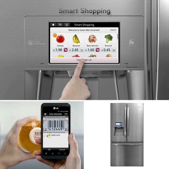 Smart firdge LG
