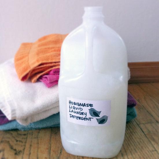 Homemade Liquid Laundry Detergent
