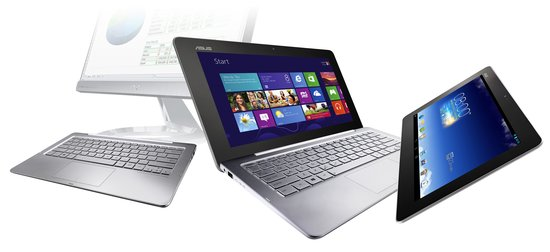 AsusTransformer Book Trio – Üçü bir arada pc notebook tablet hybrid android – windows
