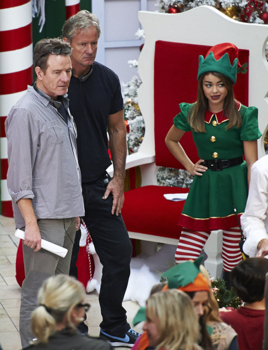 Modern Family Christmas Episodes.Bryan Cranston Directing Modern Family Christmas Episode
