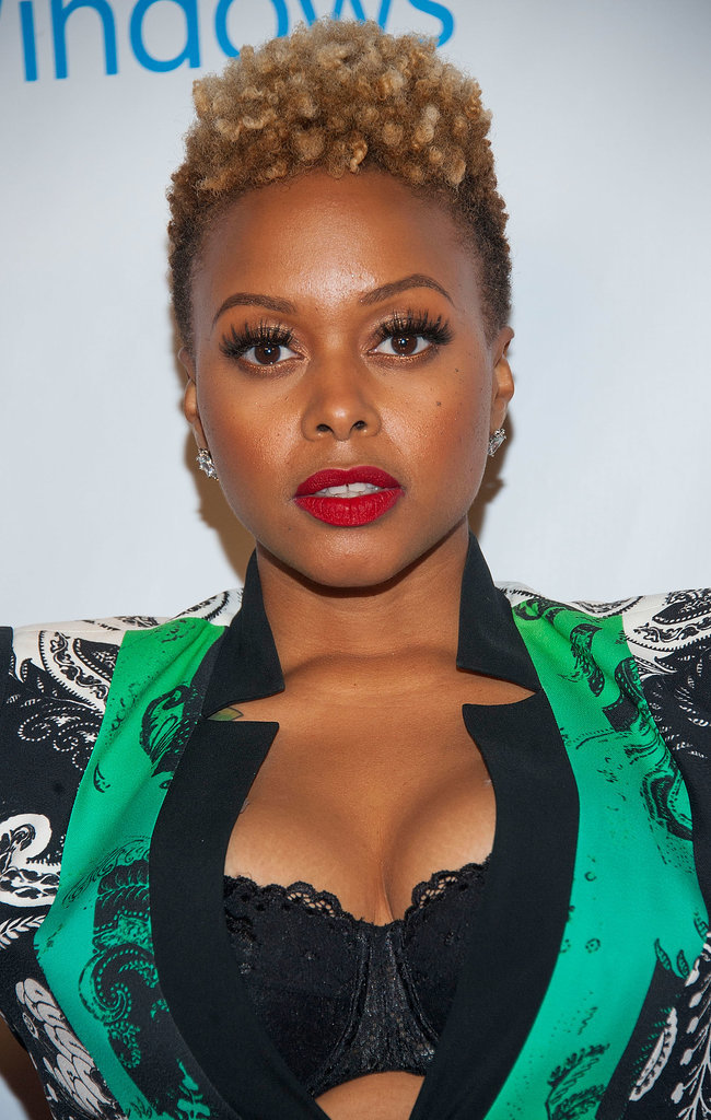 chrisette michele hair styles at the 2014 grammy awards afterparties 9772